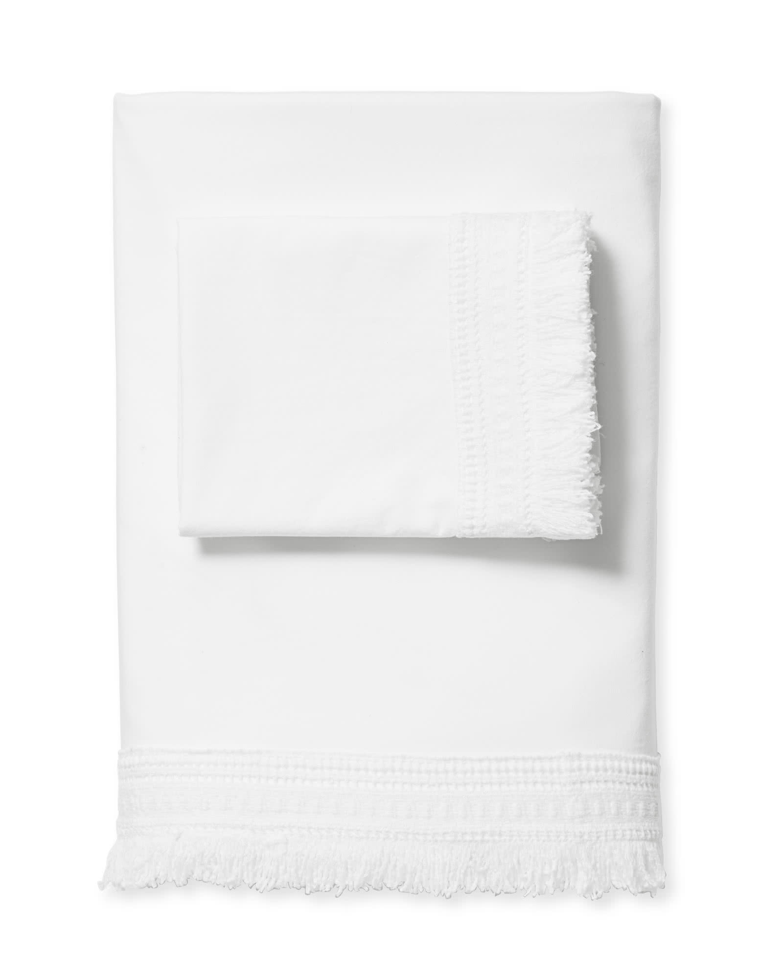 Solana Sheet Set, White