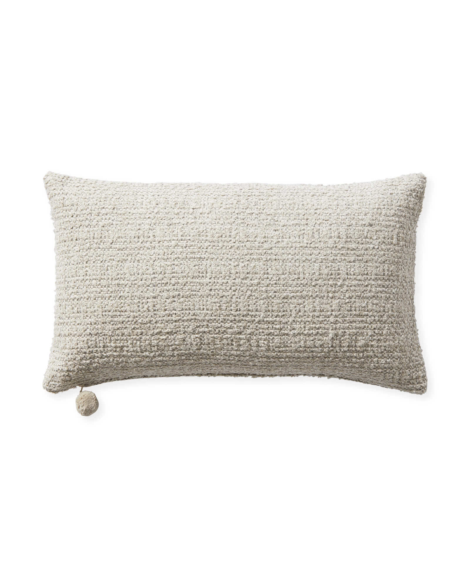 Perennials Performance Textured Loop Pillow Cover, Sand