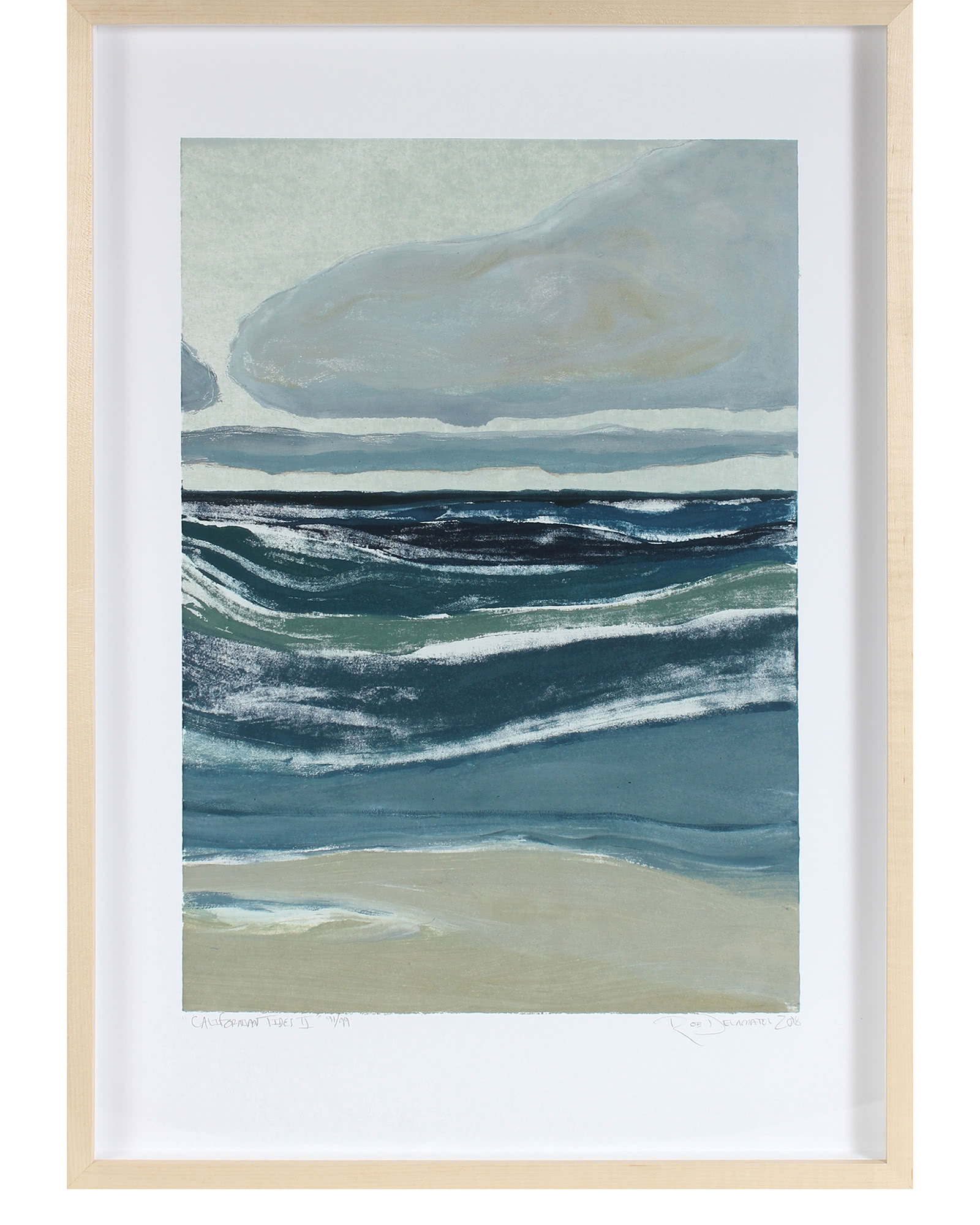 """Californian Tides II"" by Rob Delamater,"