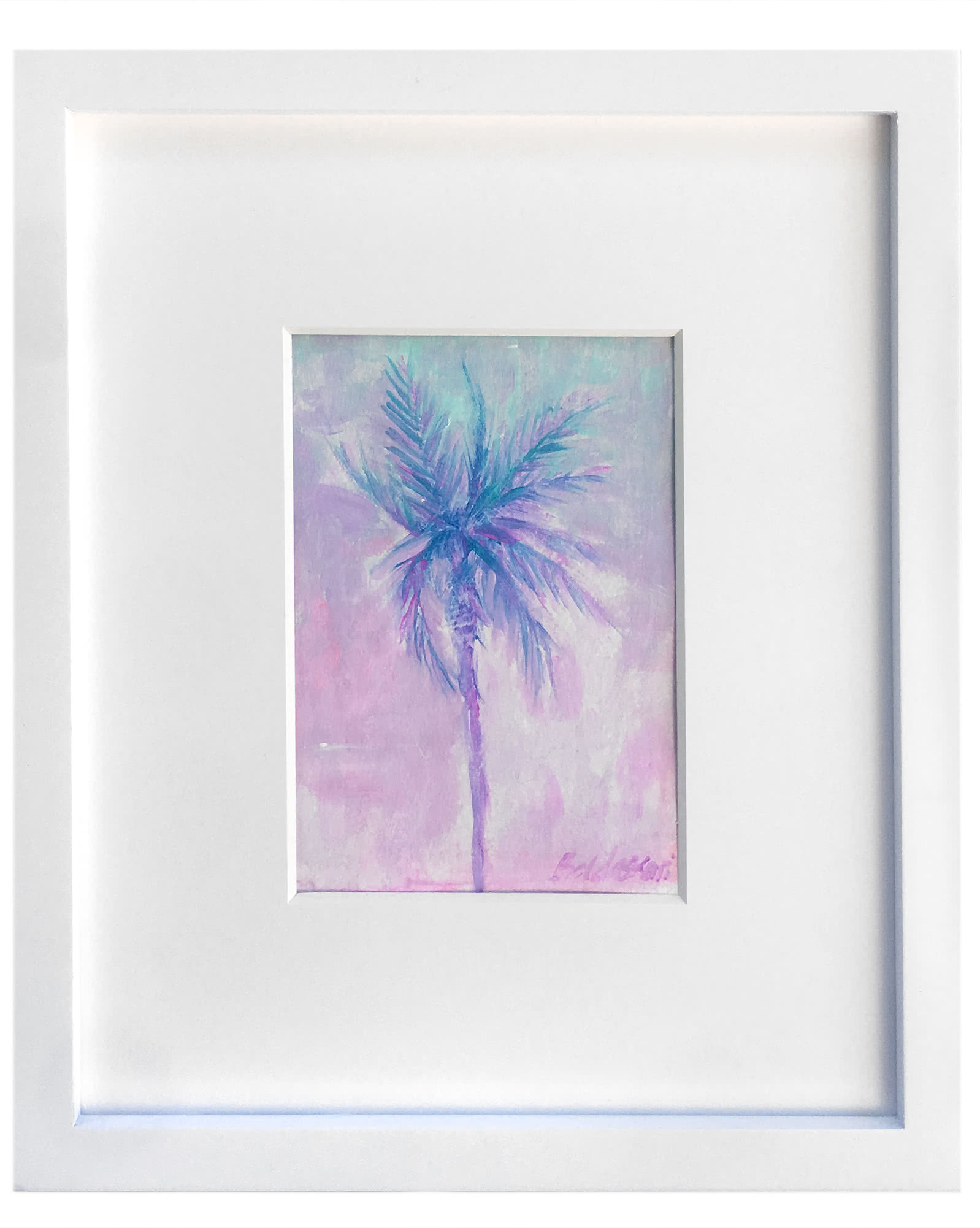 """Blushing Pink Palm"" by Donna Baldassari,"