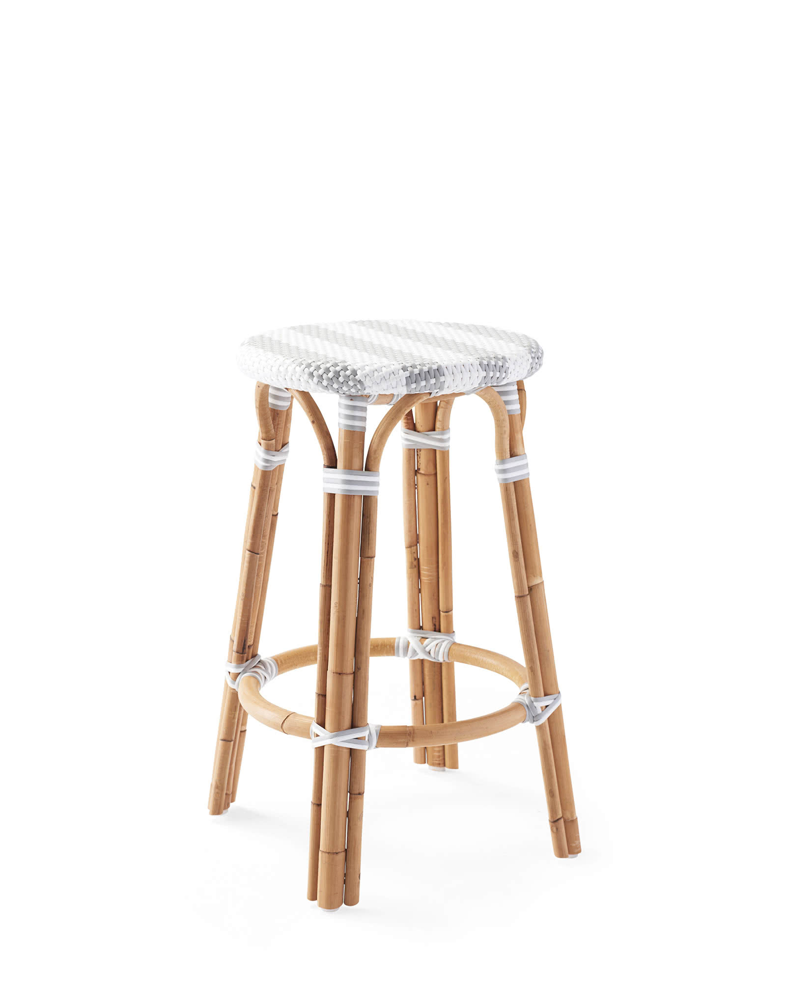 Riviera Backless Stools Striped Serena Amp Lily