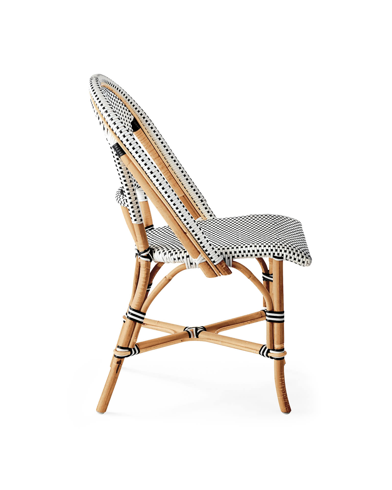 Riviera Side Chair, Black