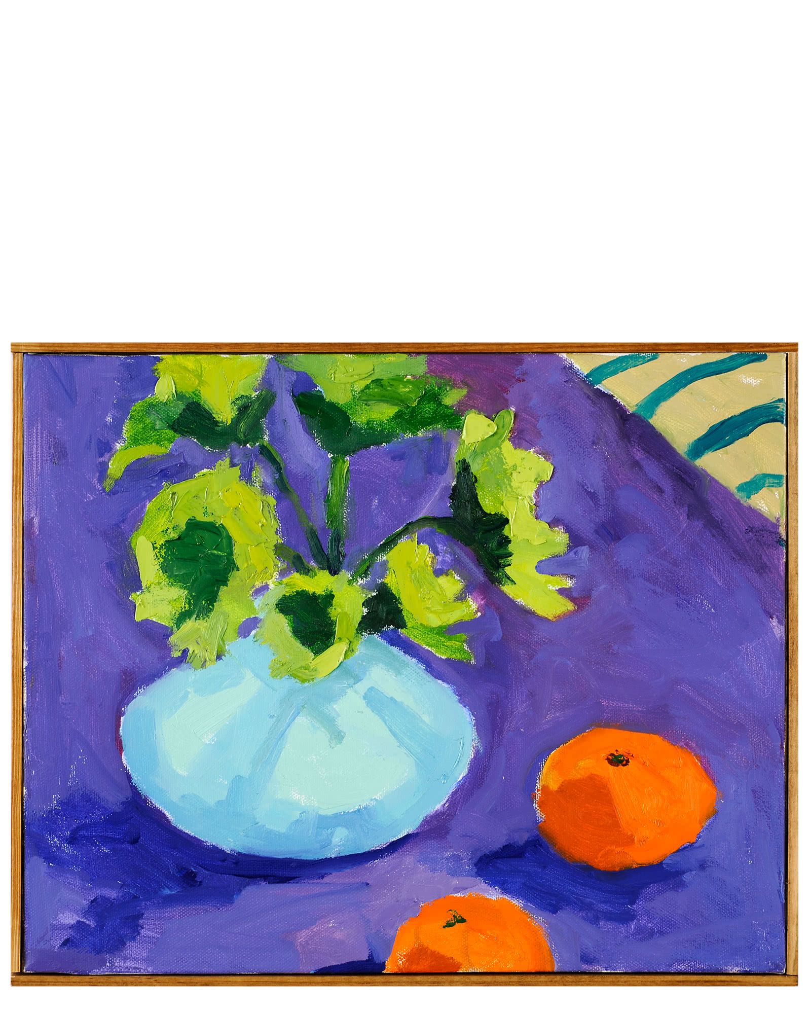 """""""""""Still Life with Two Clementines"""" by Nancy Tart,"""