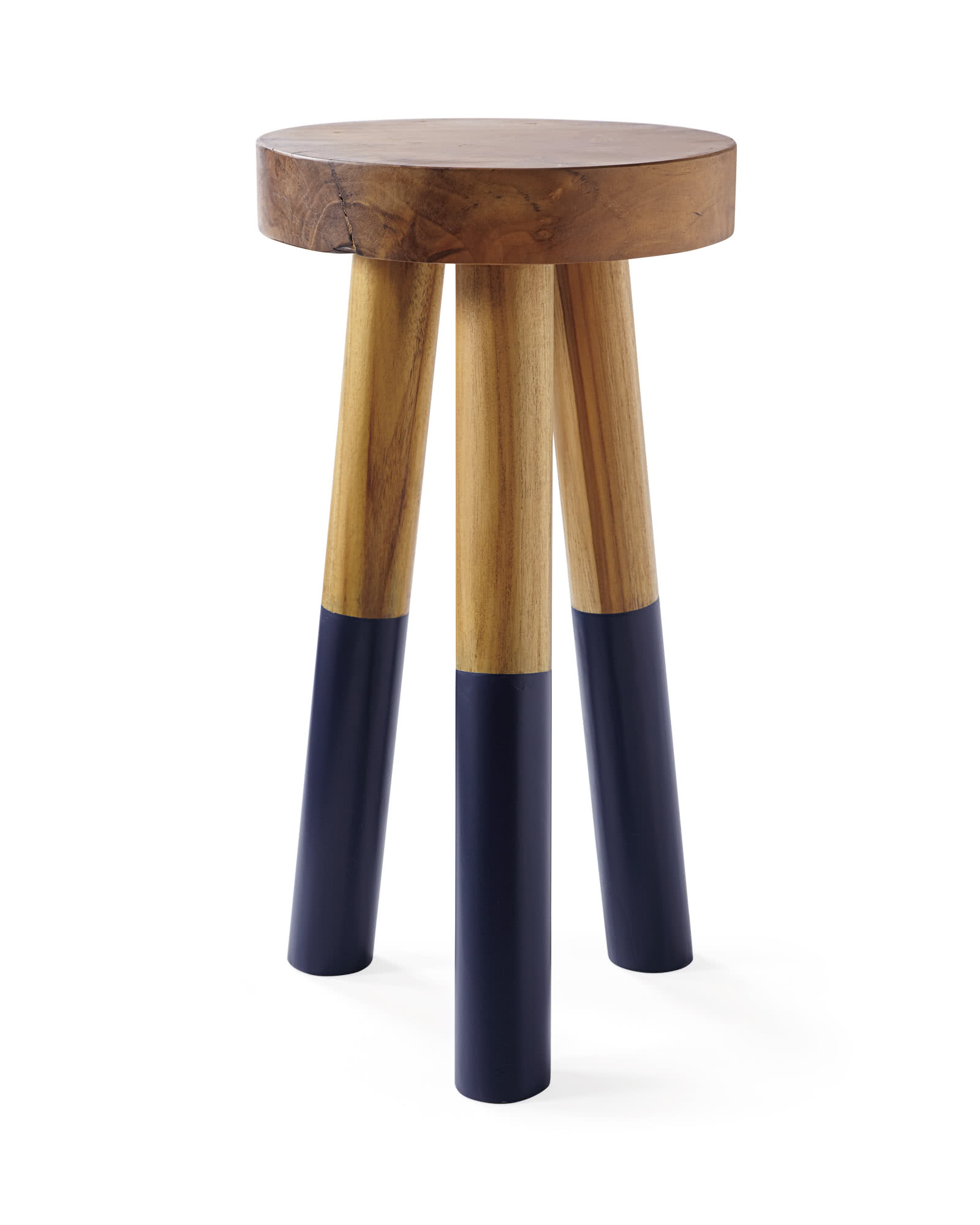Dip-Dyed Stools, Navy