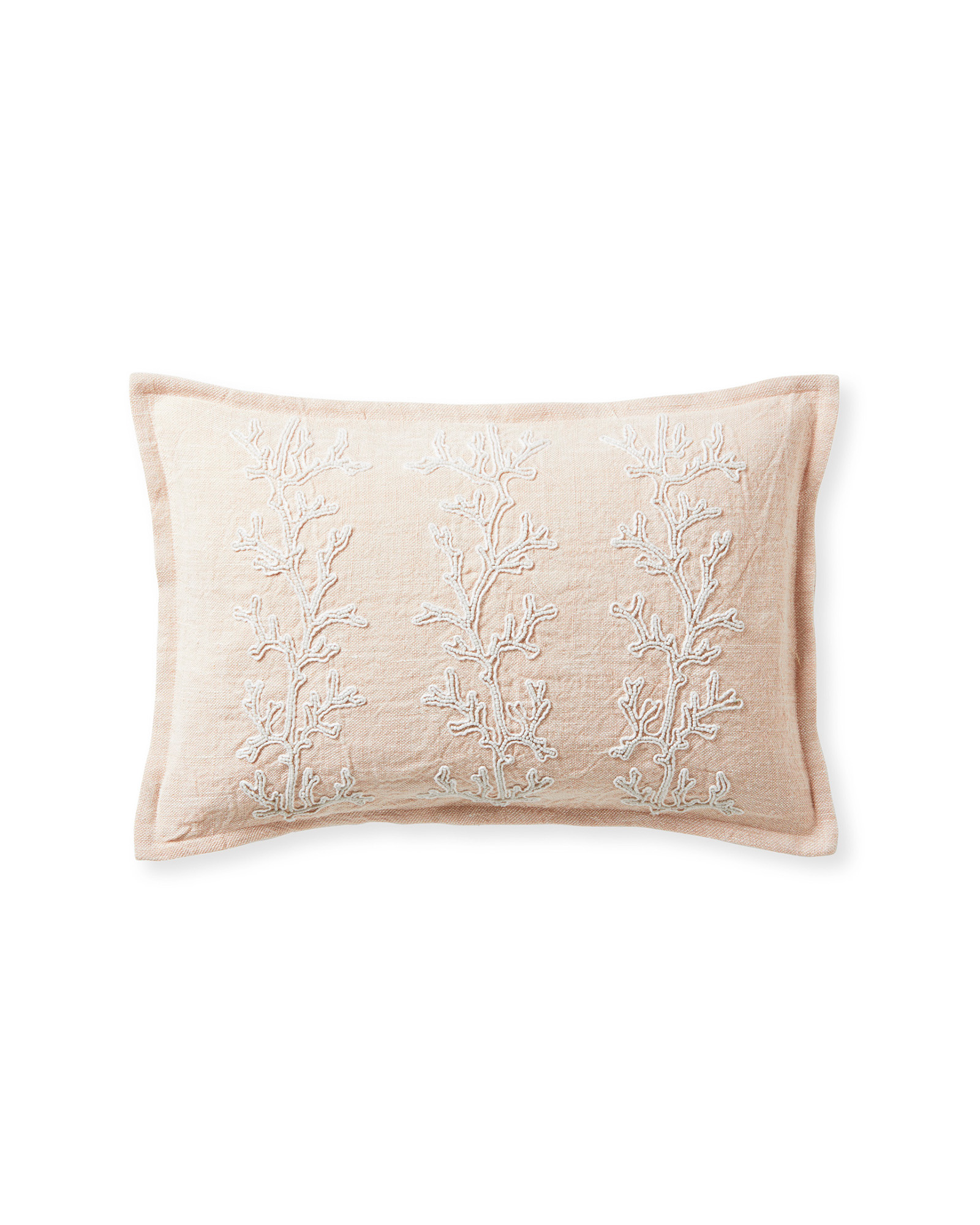Beach Bay Pillow Cover - Pink Sand,