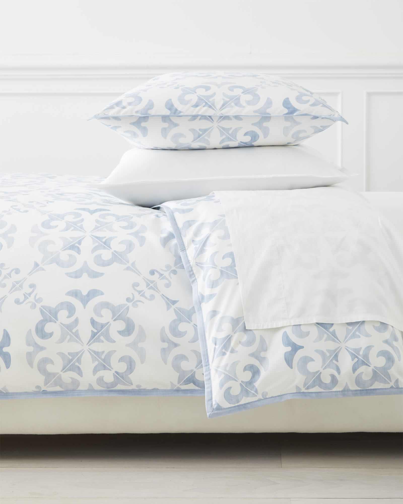 Wentworth Duvet Cover, Blue