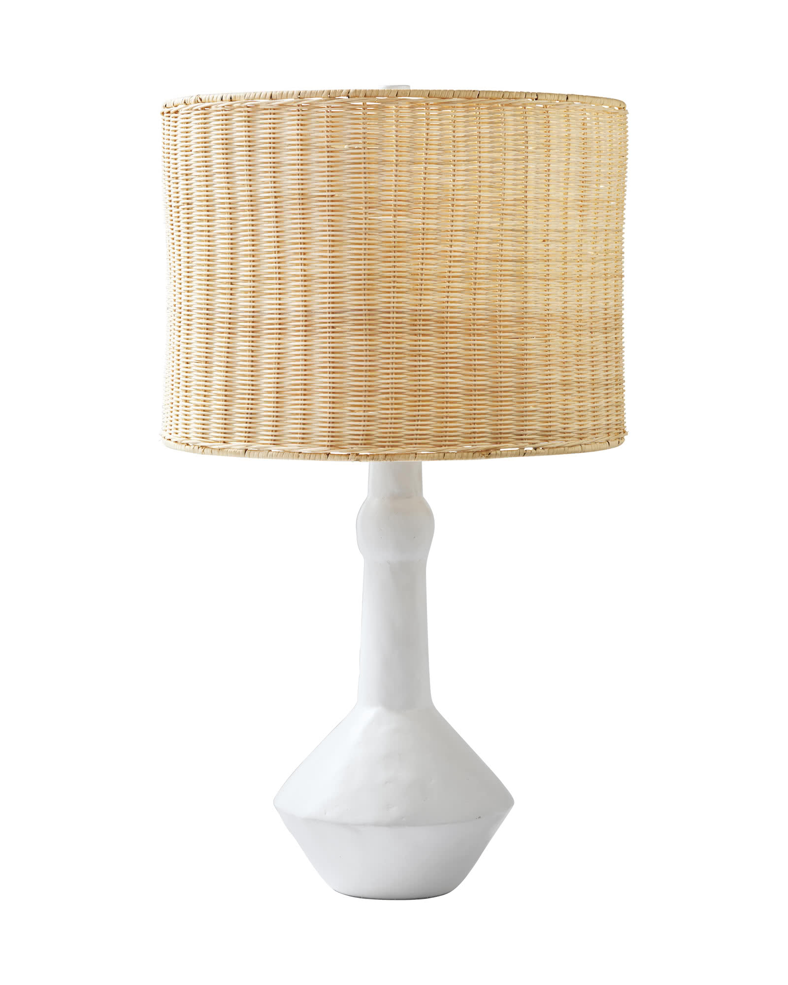 Brighton Table Lamp, Wicker