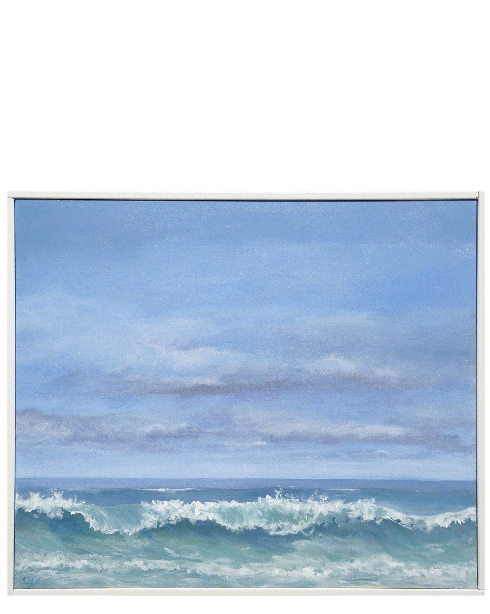 """""""Breaking Wave"""" by Carol Saxe,"""
