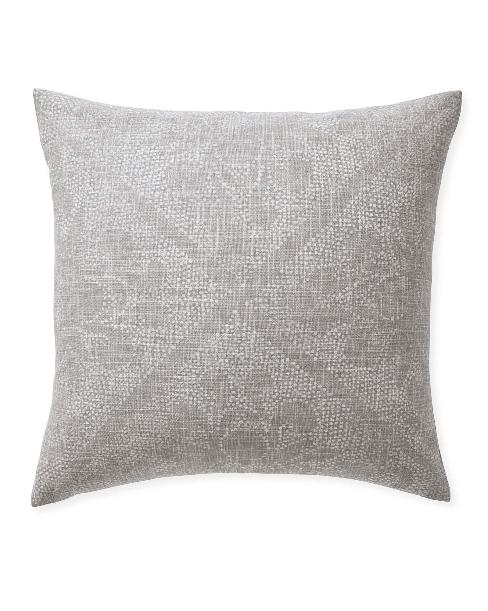 Camille Scroll Pillow Cover, Smoke