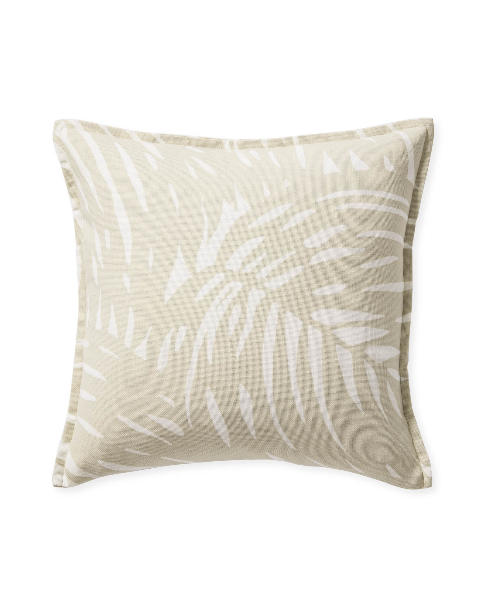 Palm Pillow Cover, Sand