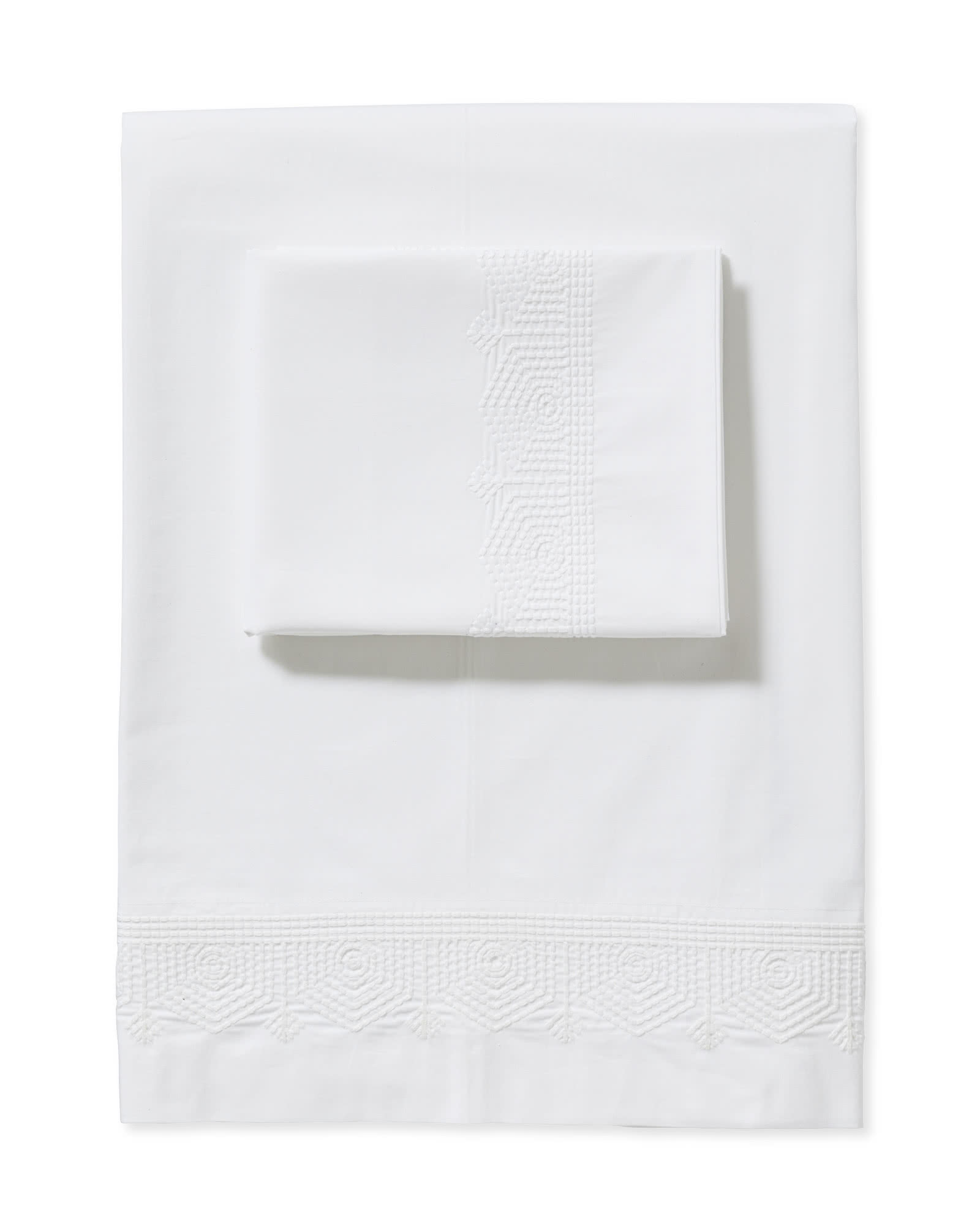 Olympia Sheet Set, White