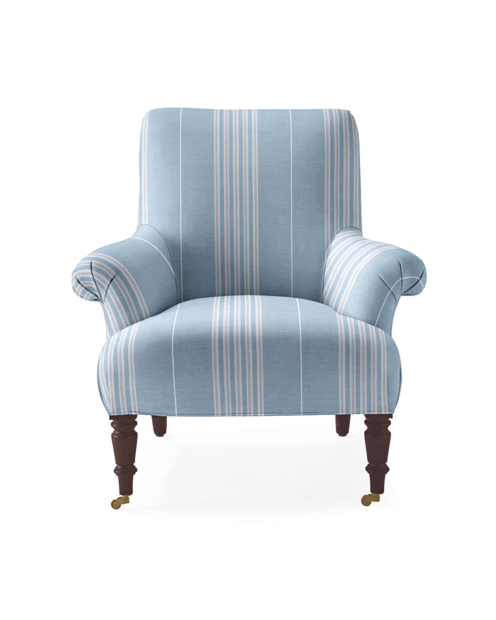 Avignon Chair - Perennials Coastal/Sky Lake Stripe,