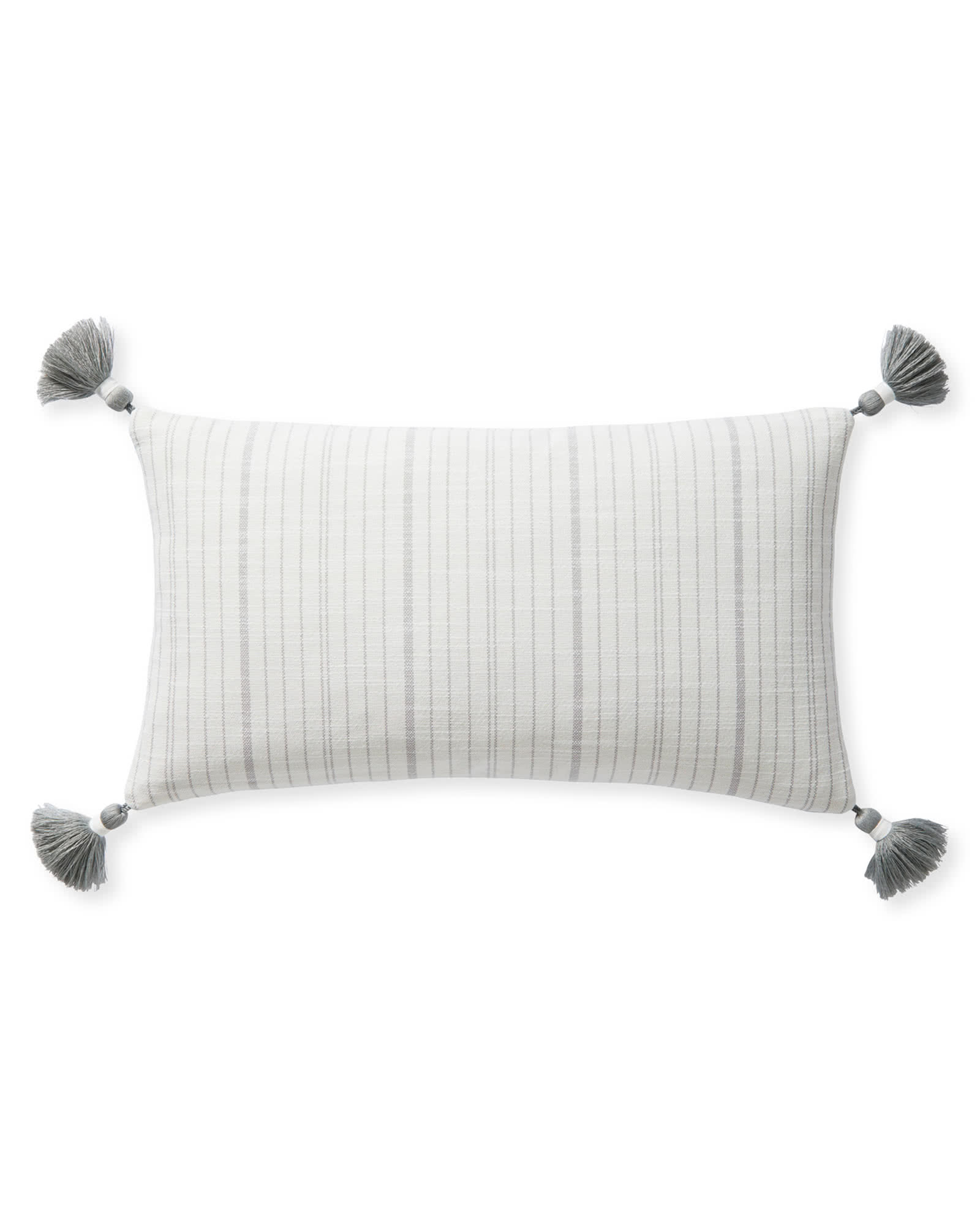 Surf Stripe Pillow Cover, Smoke