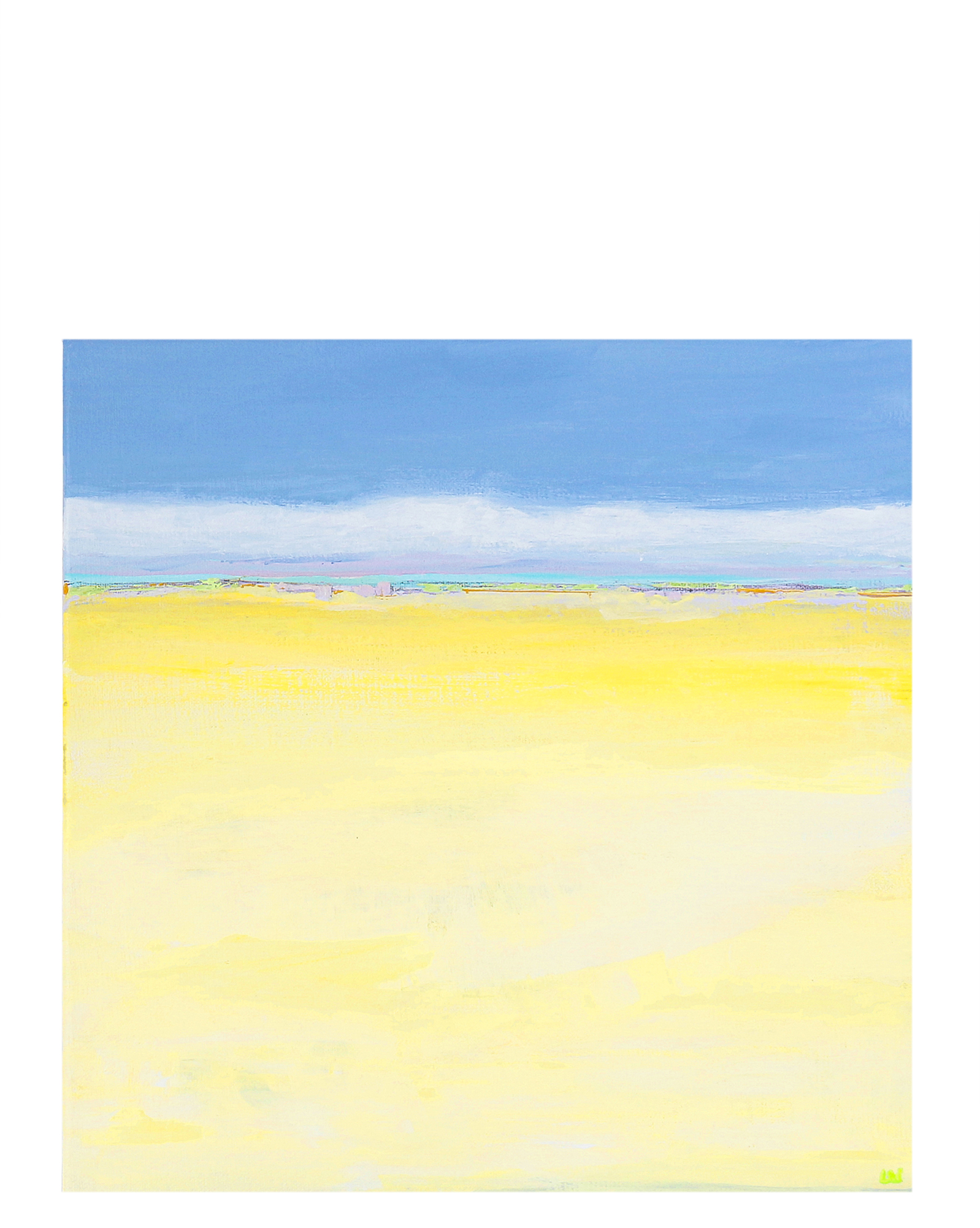 """Pale Yellow"" by Laurie Winthers,"