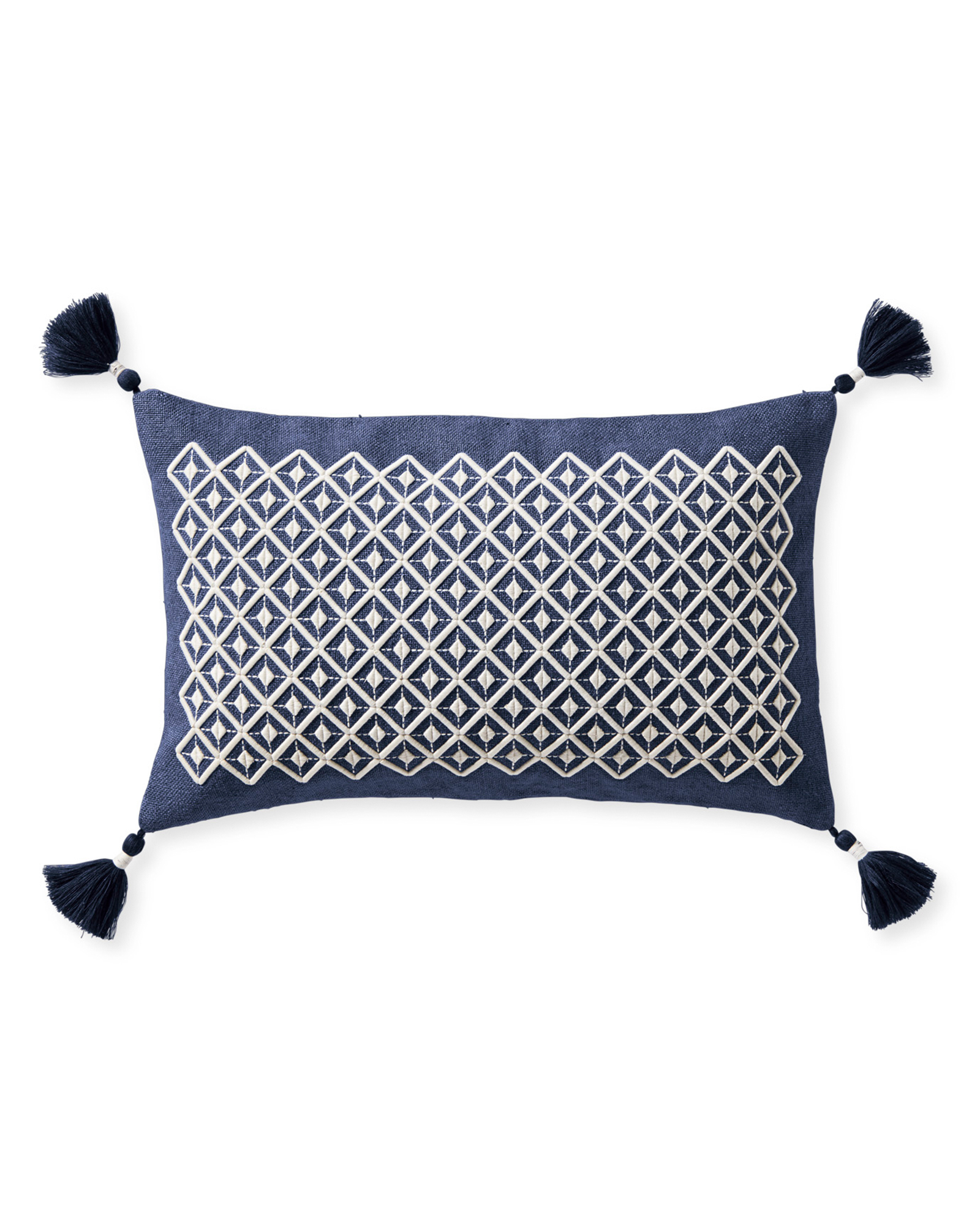 Frontera Pillow Cover, Navy