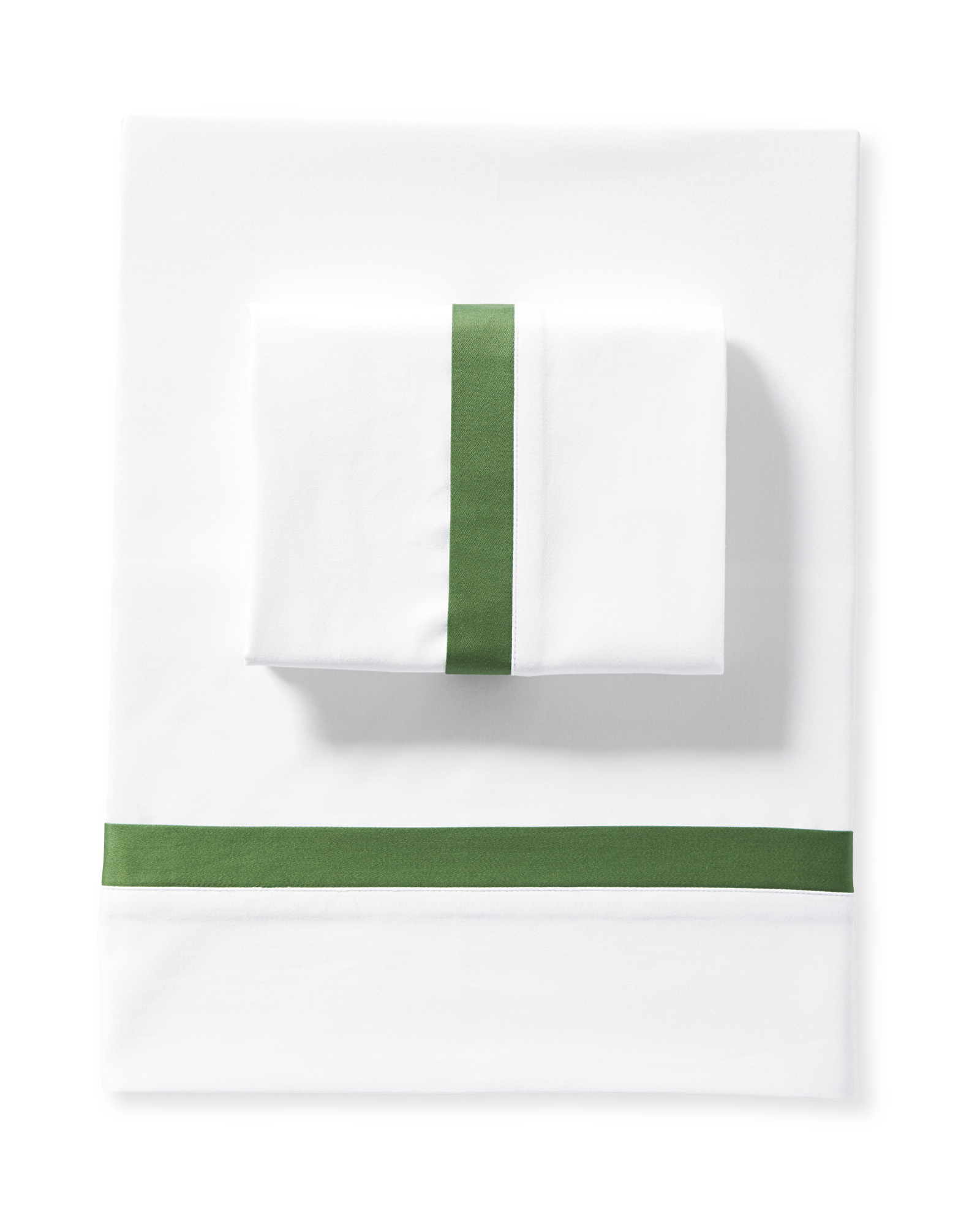 Border Frame Sheet Set, Moss