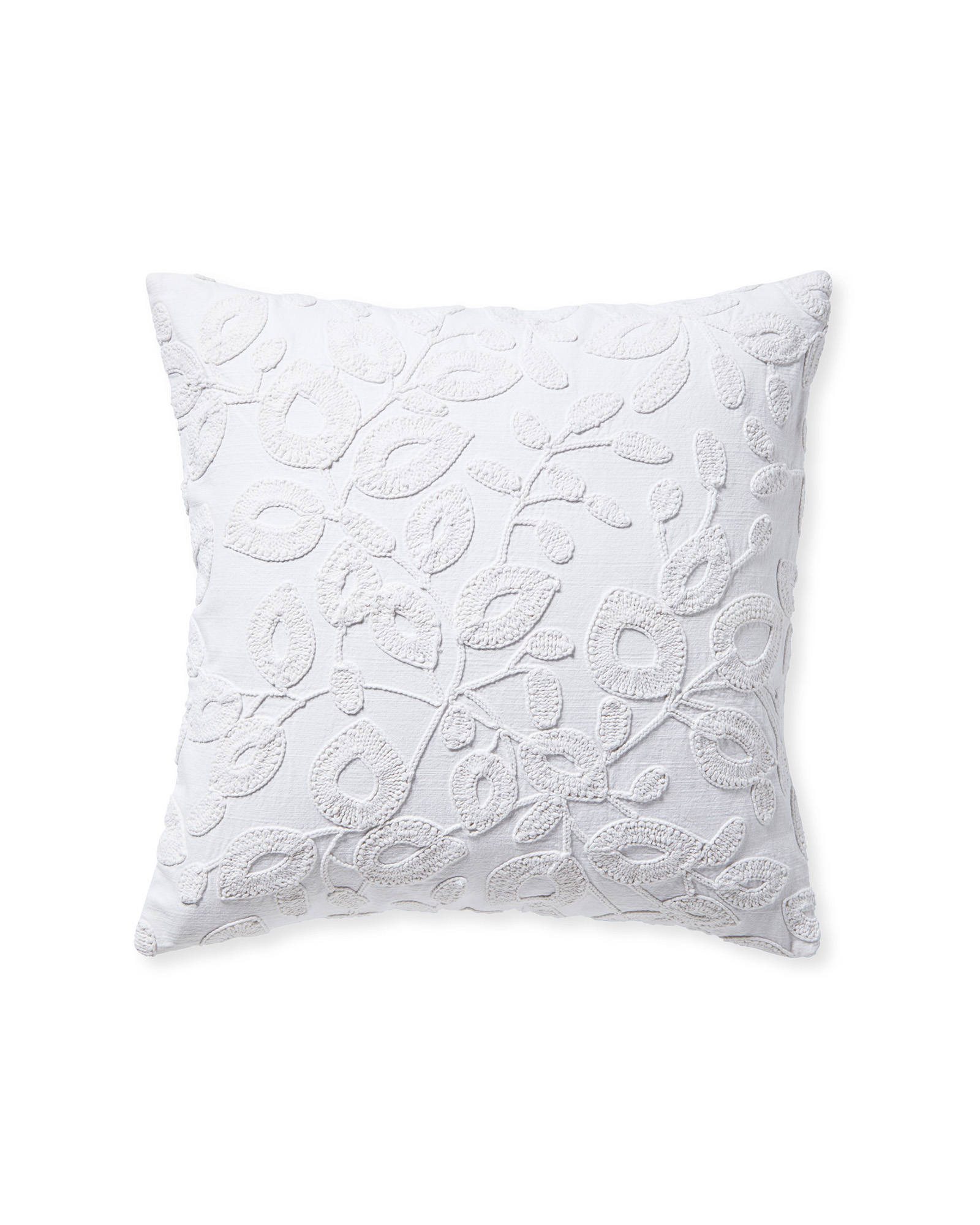 Willowbrook Pillow Cover, White