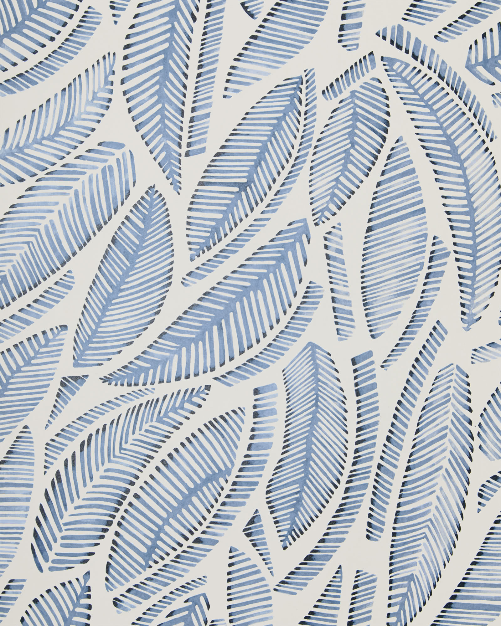 Fallbrook Wallpaper, Blue