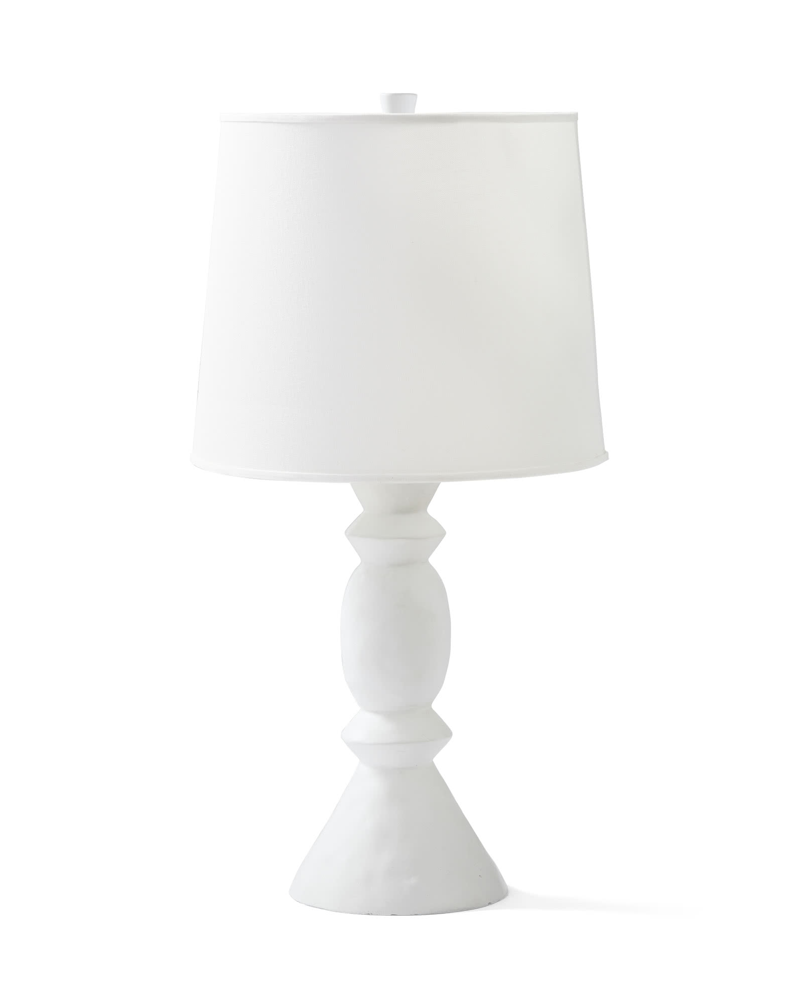 Brighton Table Lamp, White