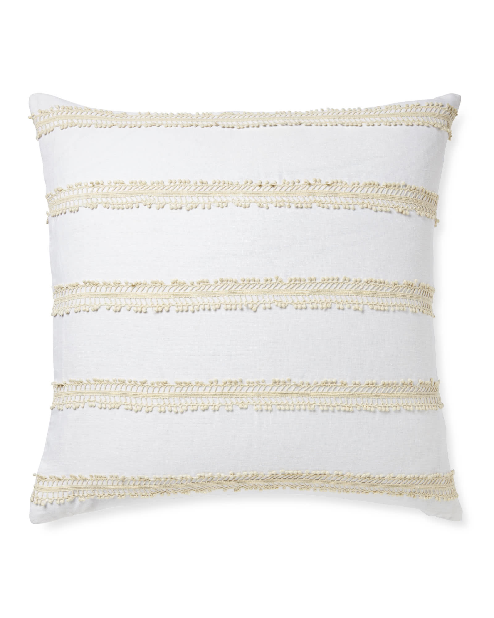 Sevilla Pillow Cover, White/Ivory