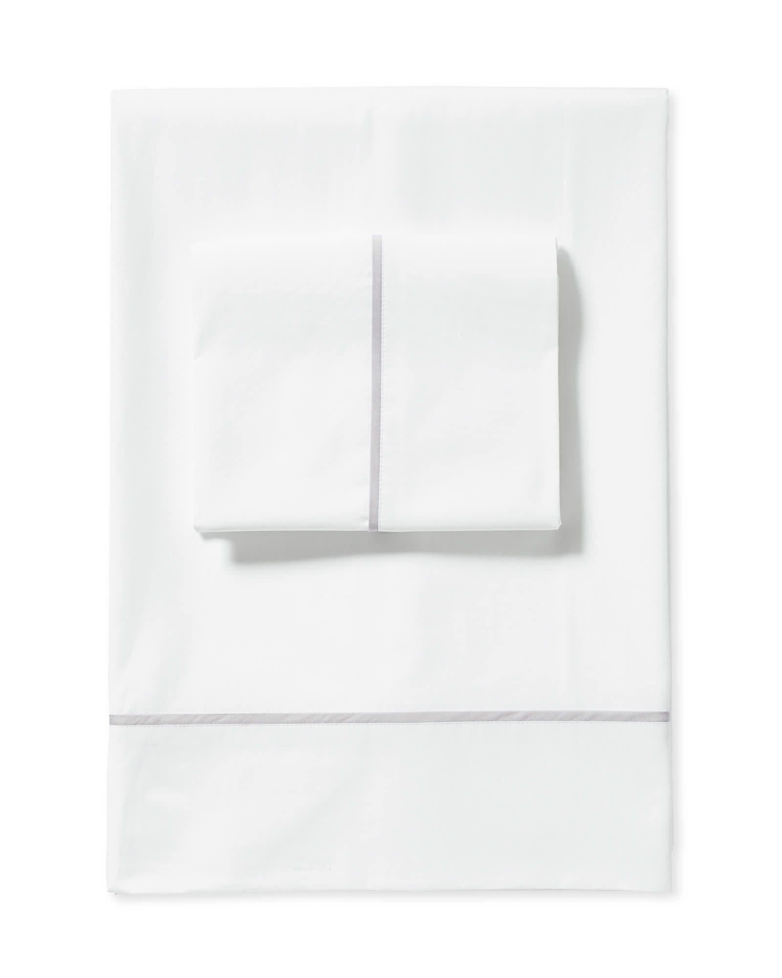 Beach Club Sheet Set, Fog