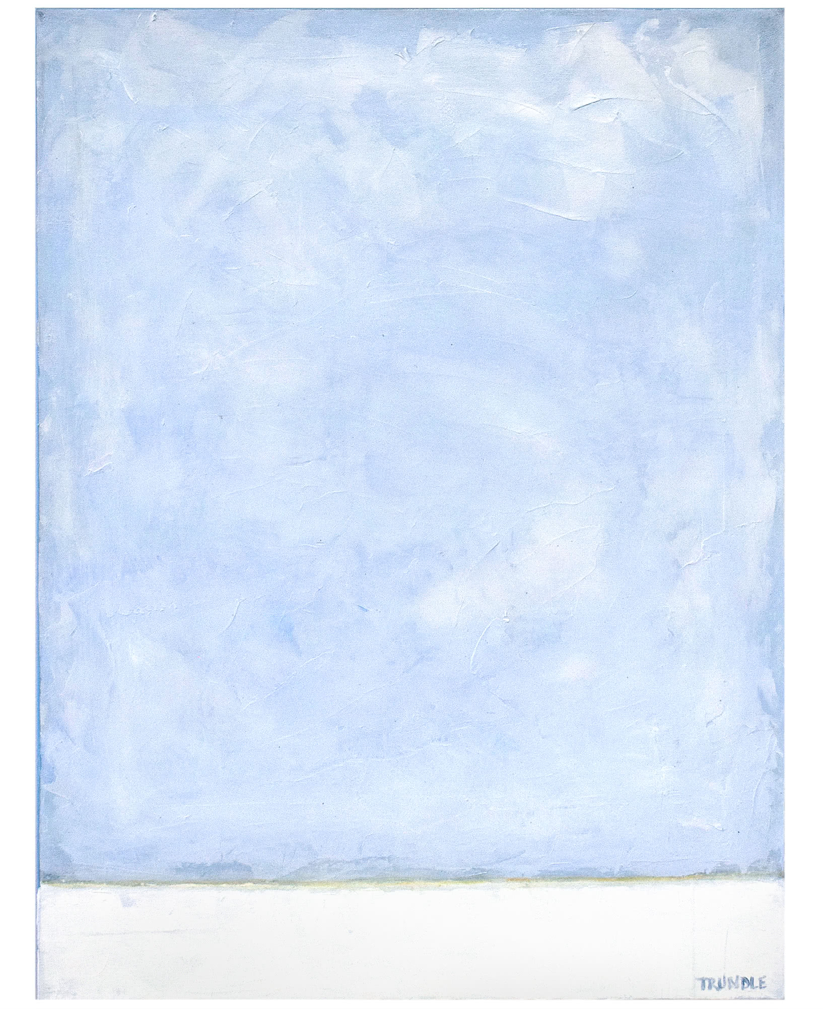"""""""Nothing But Blue Skies"""" by Sarah Trundle,"""