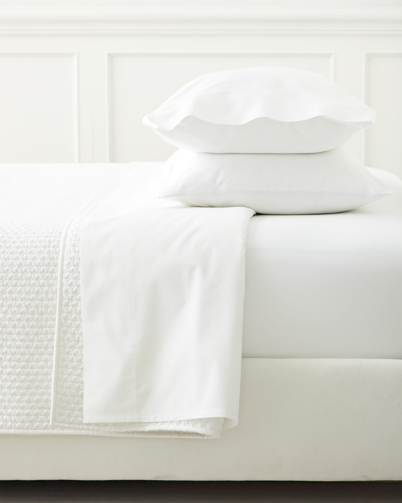 Classic White Sateen Pillowcases (Extra Set of 2),