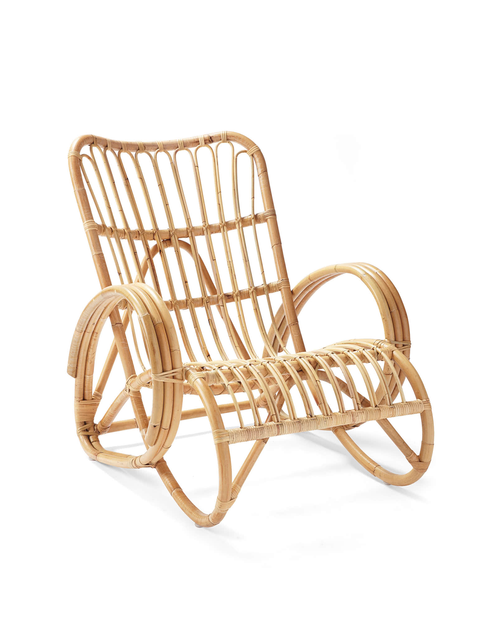 Palms Rattan Chair,