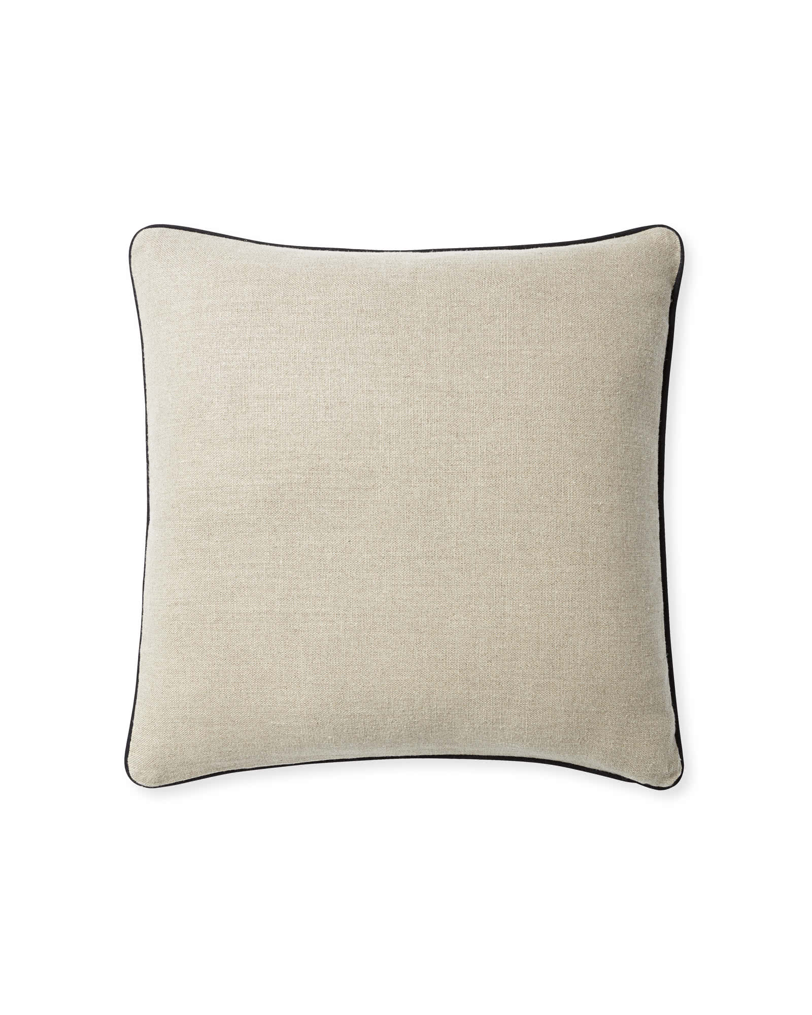 Suede Pillow Cover, Navy
