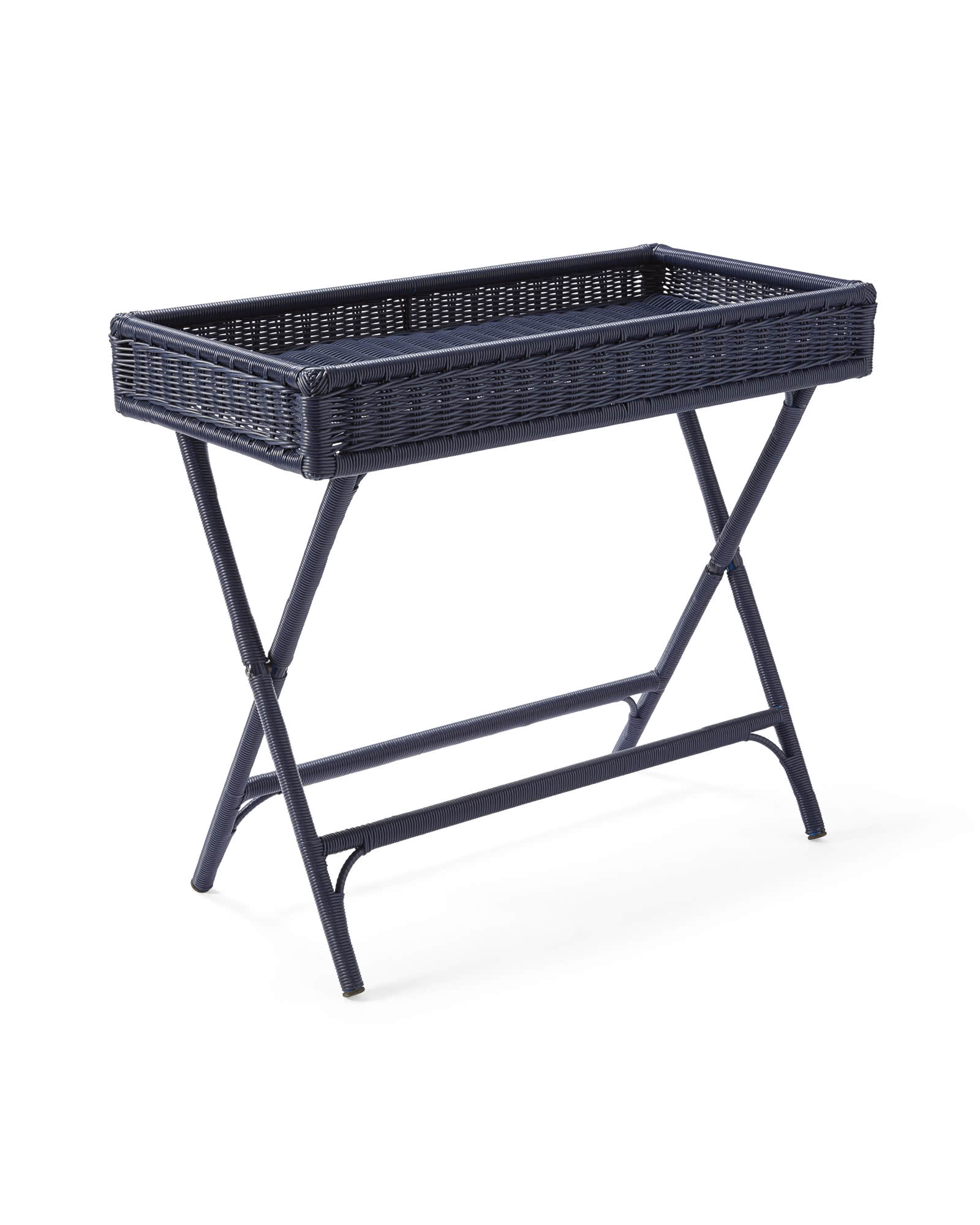 Pacifica Bar Cart, Navy