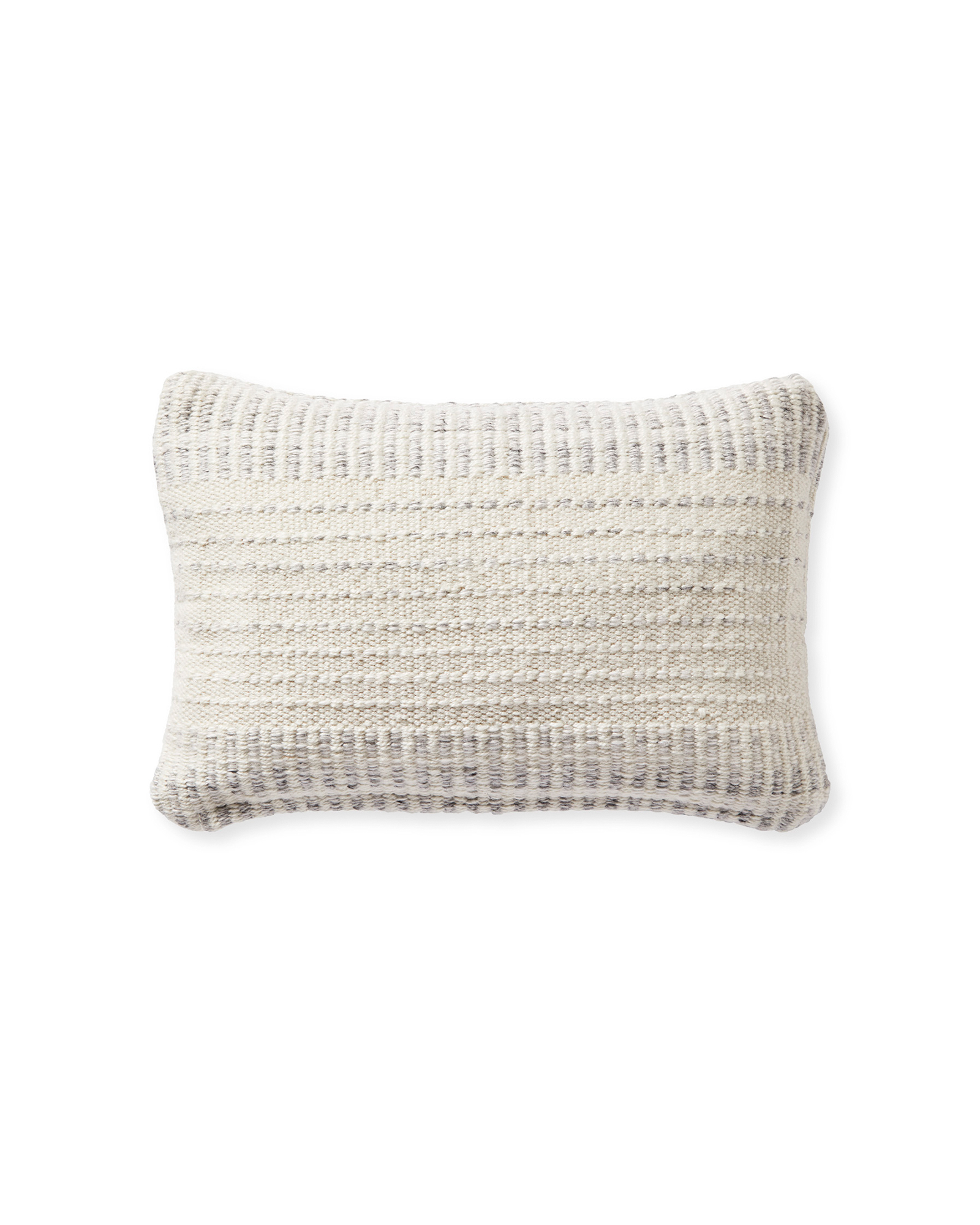 Alba Pillow Cover, Heathered Grey