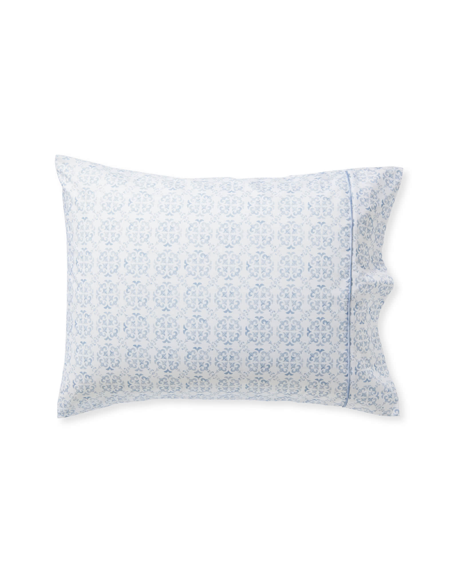 Wentworth Pillowcases (Set of 2), Coastal Blue