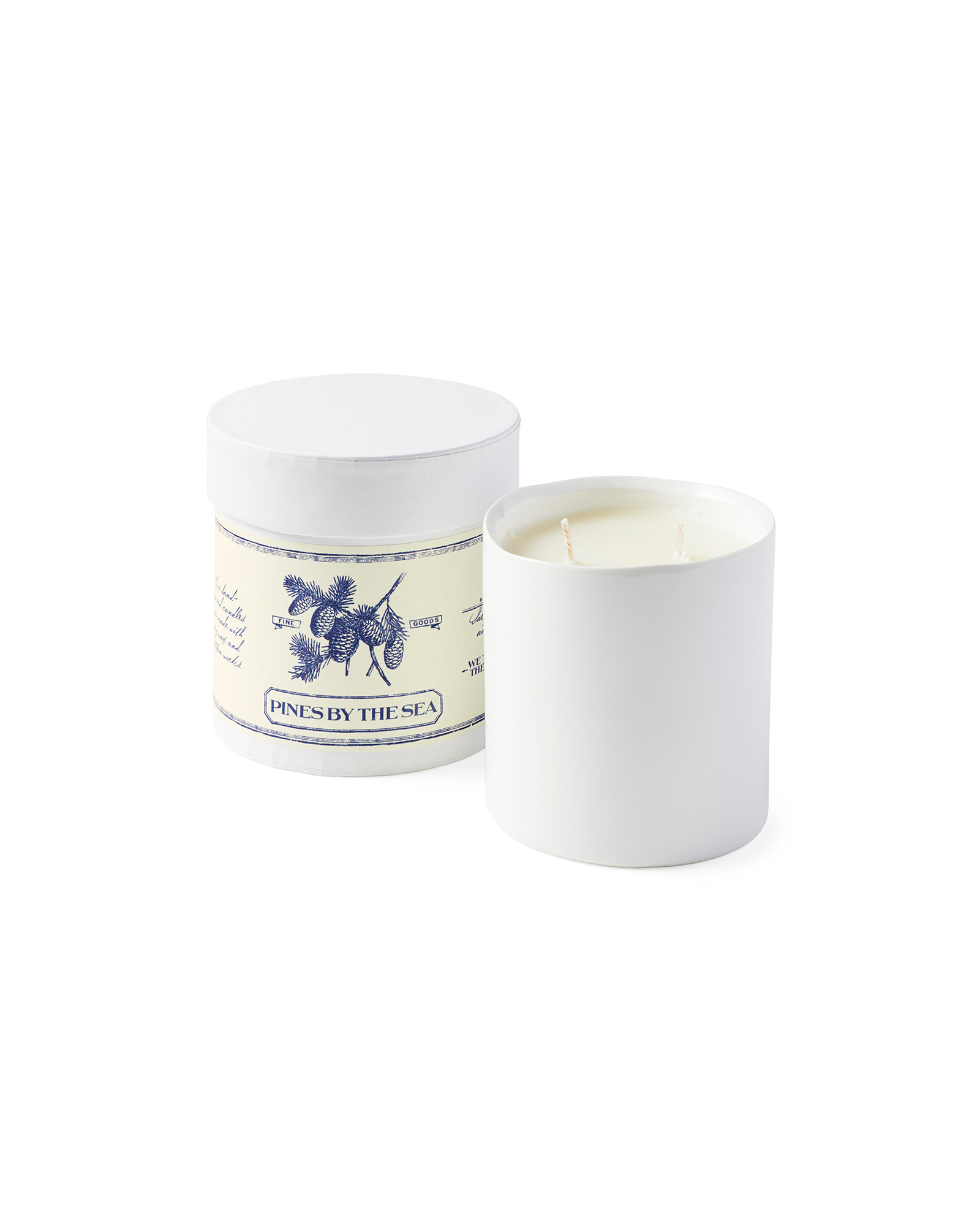 Pines by the Sea Candle,
