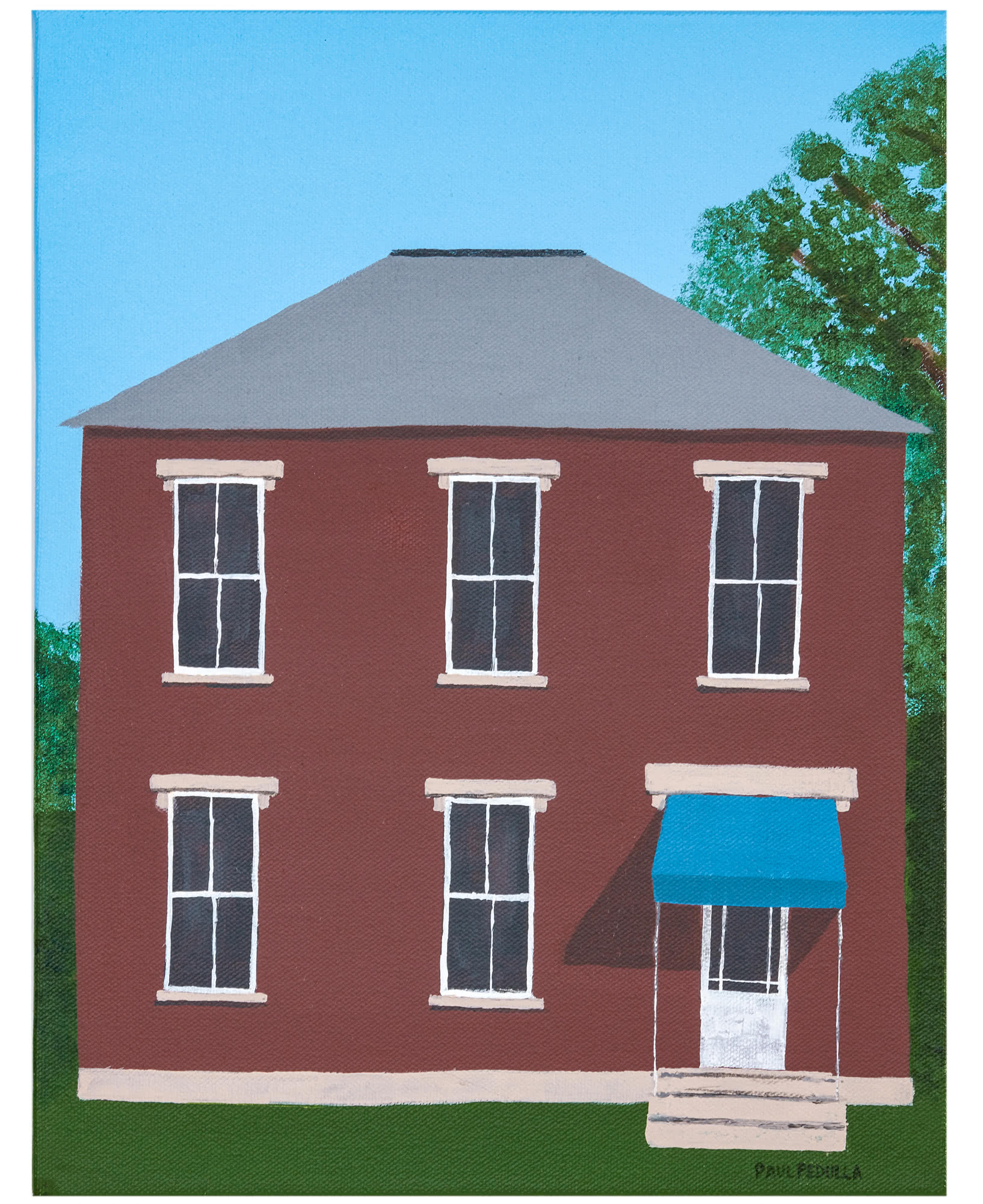 """""""Blue Awning"""" by Paul Pedulla,"""