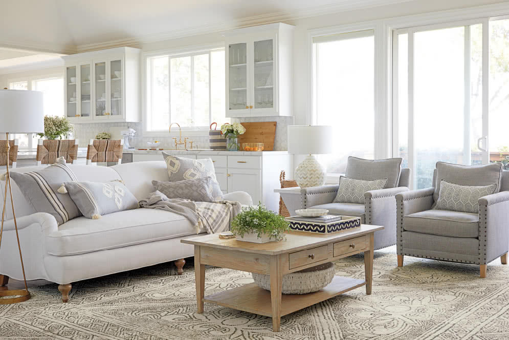 Shop The Look Living Room Designer Rooms Serena Lily