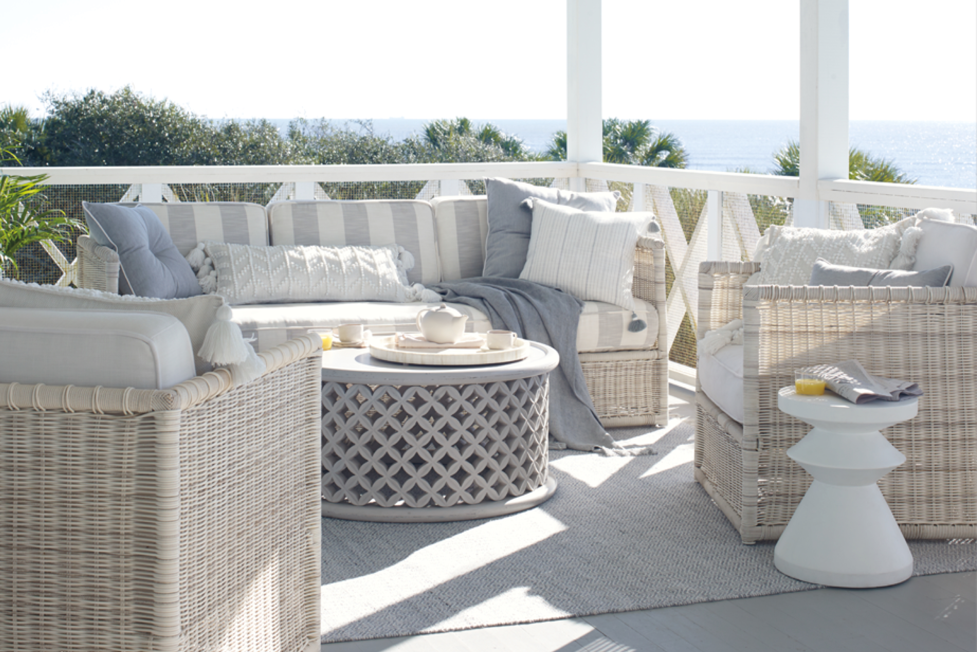 Pacifica outdoor furniture at Serene and Lily.