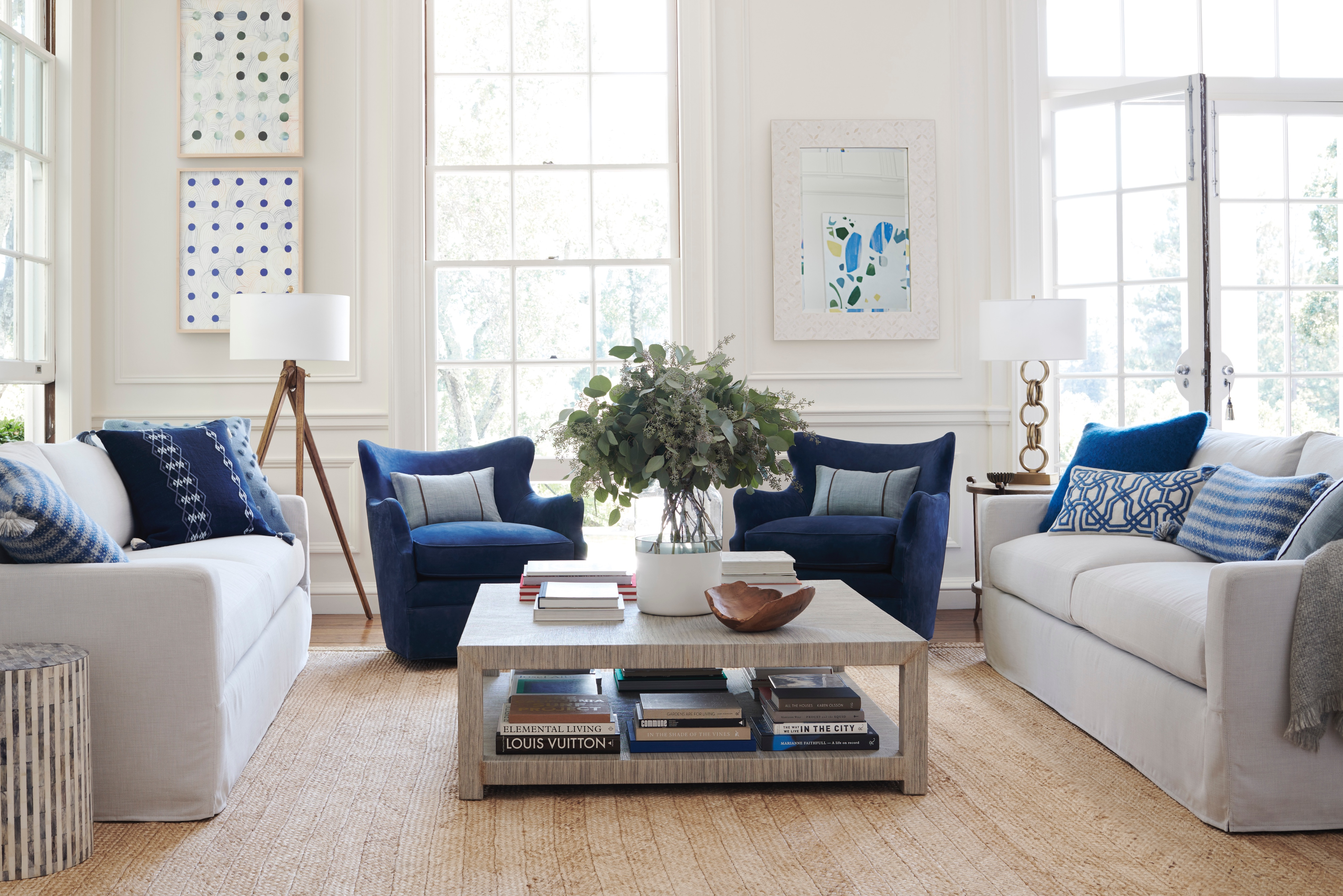 Shop the Look: Living Room - Designer Rooms | Serena & Lily