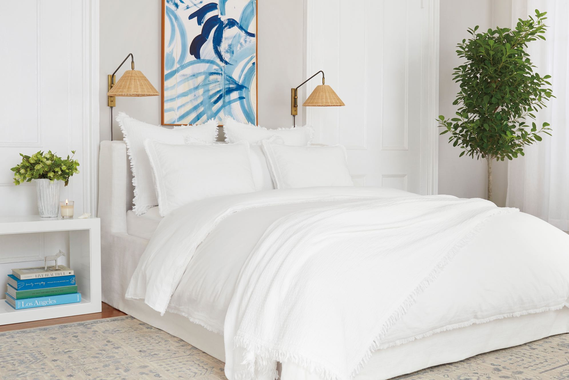 The All White Bed