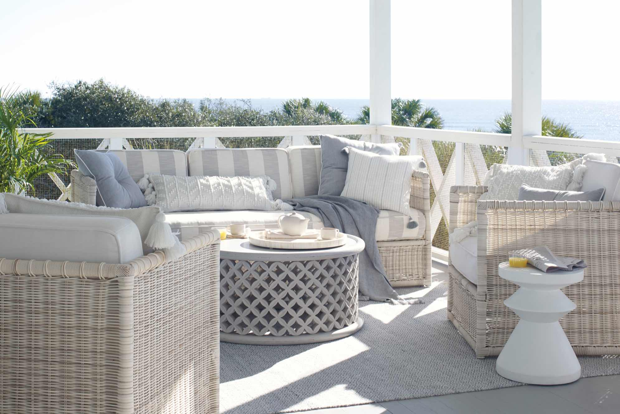 The Beauty of Sunwashed Wicker