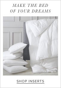 shop bedding inserts
