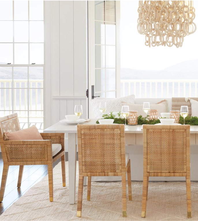 Tremendous Coastal Dining Room Table Sets Serena Lily Caraccident5 Cool Chair Designs And Ideas Caraccident5Info