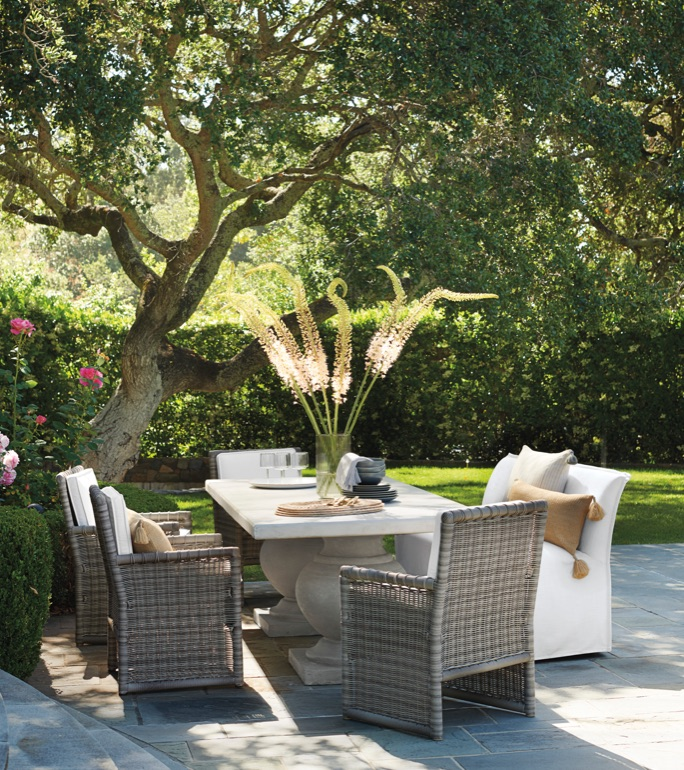 best sneakers 9d690 ca1ce Outdoor Patio Furniture & Outdoor Furnishings | Serena & Lily