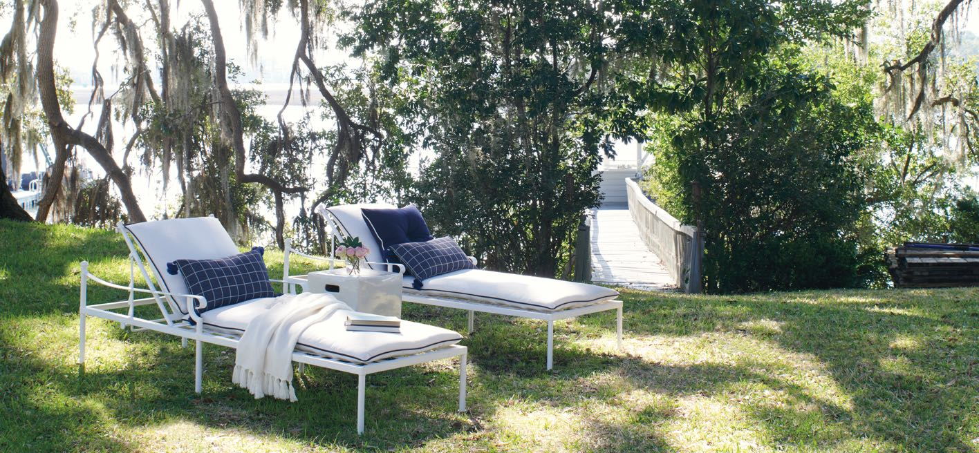 New Outdoor Gardner Chaise